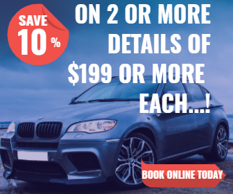 Auto Detail Factory - 10% off 2 or more details over $199 each.