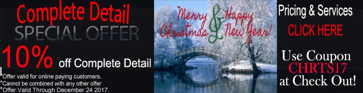Mobile Car Detailing Christmas Special